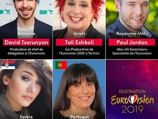 France | Jurors announced for Destination Eurovision Semi Final 1