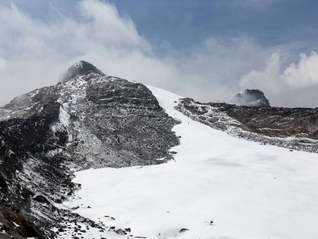 The numbers on a disappearing glacier: Conejeras Colombia