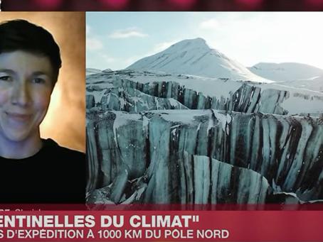Climate Sentinels sur France24