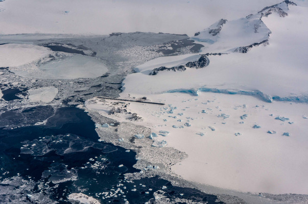 The British Antarctic Survey station of Rothera