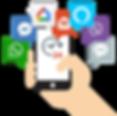 Webio conversational middleware messagin