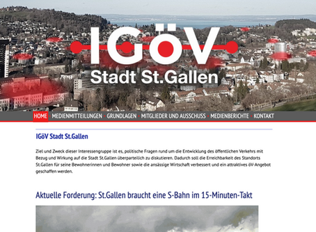 Der Geduldsfaden ist gerissen - IGöV Stadt St.Gallen gegründet