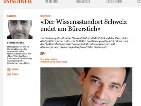 Der Wissensstandort Schweiz endet am Bürerstich