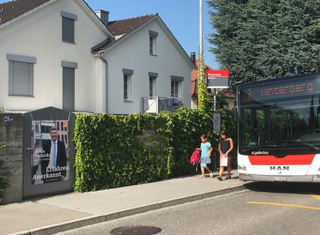 Fahrt gefälligst Bus, Ihr St.Galler!