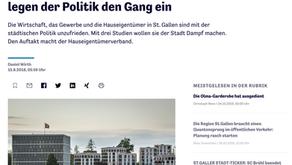 Hauseigentümer präsentieren Studie zum Wohnstandort St.Gallen: Verbände legen der Politik den Gang e