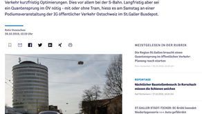 Die Region St.Gallen braucht einen Quantensprung im öffentlichen Verkehr