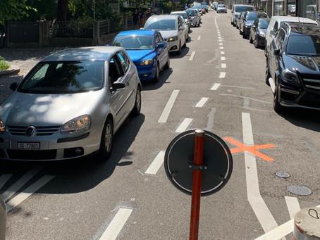 Die Idiotie der St.Galler Verkehrsplanung kennt kaum mehr Grenzen