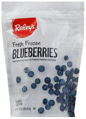 RALEY'S Frozen Fruit Blueberries 16oz