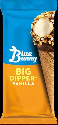BLUE BUNNY Novelty Ice Cream Big Dipper Sundae Cone 4.3oz