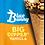 Thumbnail: BLUE BUNNY Novelty Ice Cream Big Dipper Sundae Cone 4.3oz