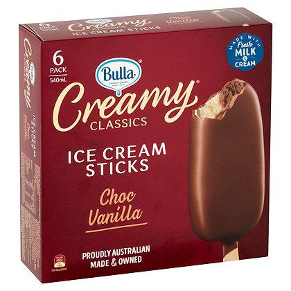 BULLA Creamy Classic Ice Cream Sticks