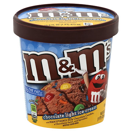 M&M Ice Cream Pint 473ml