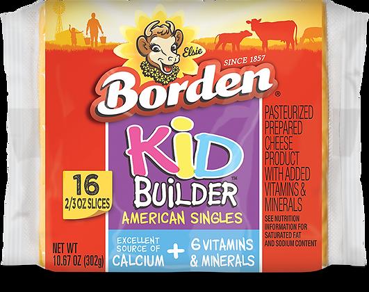 BORDEN Kid Builder American Cheese 10.67oz