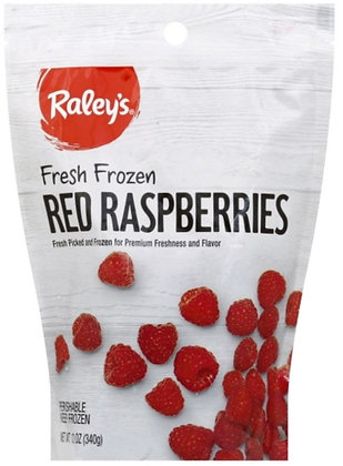 RALEY'S Frozen Fruit Red Respberry 12oz