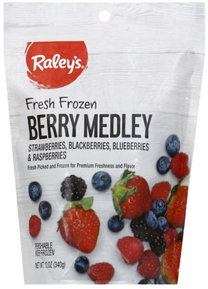 RALEY'S Frozen Fruit Berry Medley 12oz