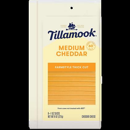 TILLAMOOK Single Slices Cheese 8oz