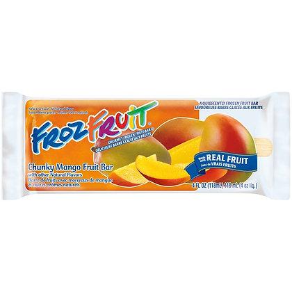BLUE BUNNY Novelty Ice Cream Frozen Fruit 4oz