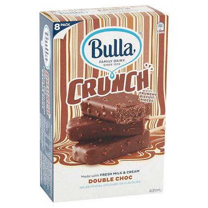 BULLA Multipack Ice Cream Crunch Sticks 8's