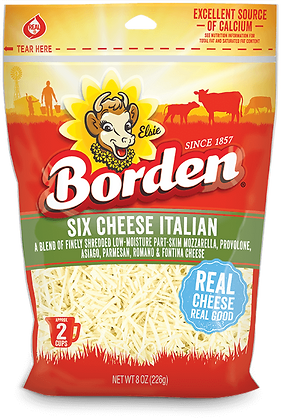 BORDENShredded Cheese 8oz
