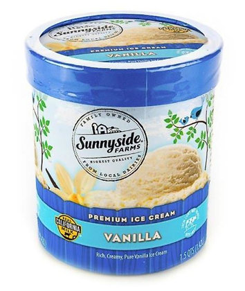 SUNNYSIDE FARMS Ice Cream 1.42L