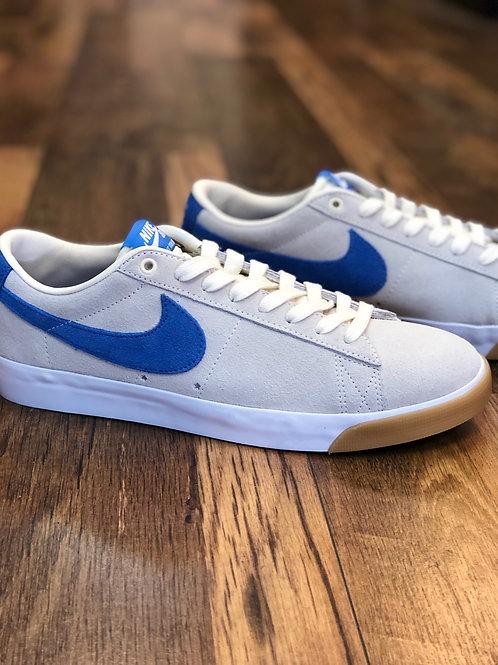 Nike SB Blazer Low GT Pale Ivory Pacific Blue White