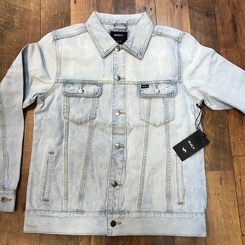 RVCA Distressed Bleachout denim Jacket