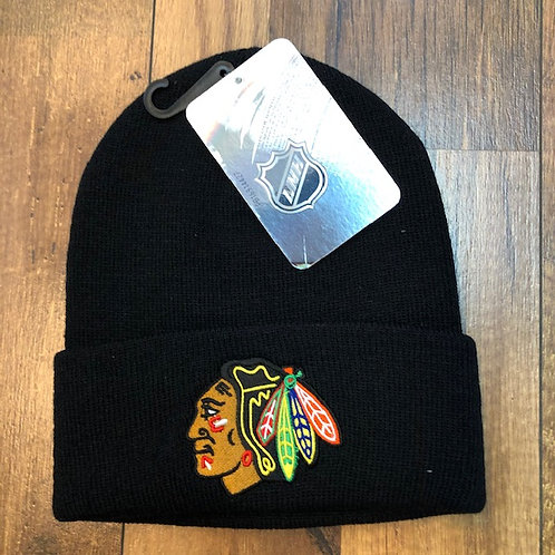 NHL Black hawks Beanie