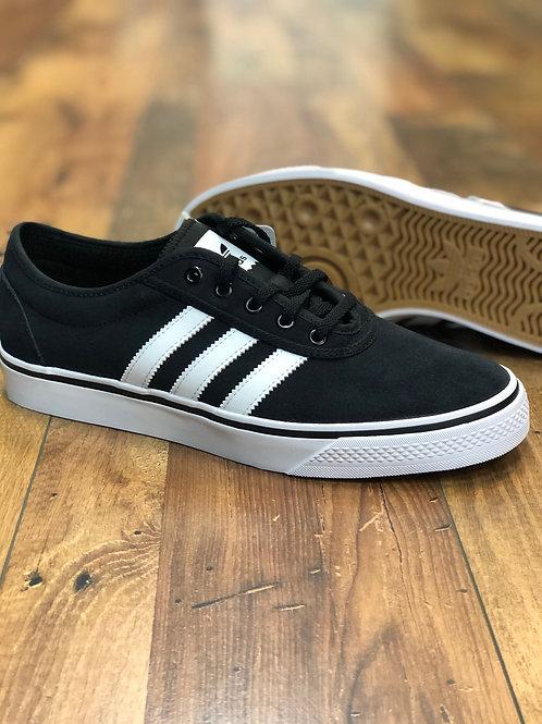 Adidas Adi-ease suede Black White Black