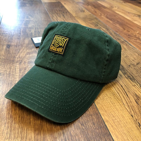 Stussy Workwear low Pro Cap forest green