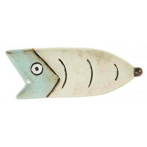 vide poche poisson vert d'eau