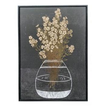 Tableaux Vase Transparent