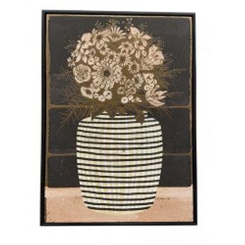 Tableaux Vase Rayure