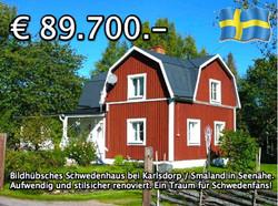 Bildhübsches Schwedenhaus