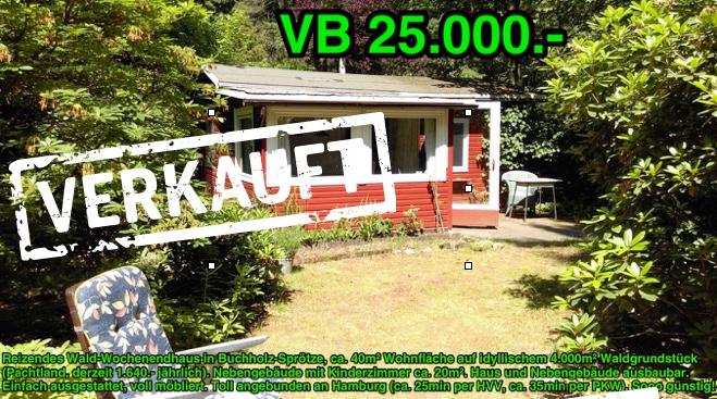 Schwedenrotes Holzhaus verkauft