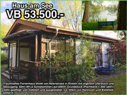 Verkauft - Ihr Haus am See