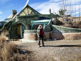 Häuser aus Abfall