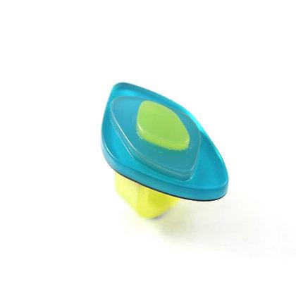 Ring-Olive-Aqua
