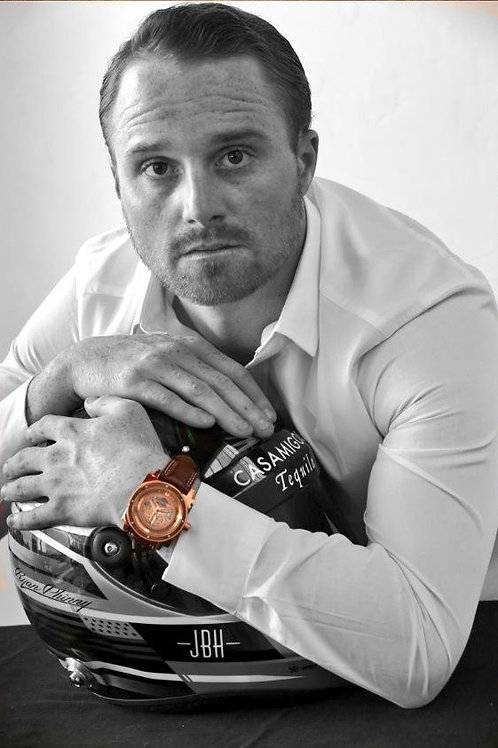 Ryan Phinny x Jason of Beverly Hills Rose Gold Watch