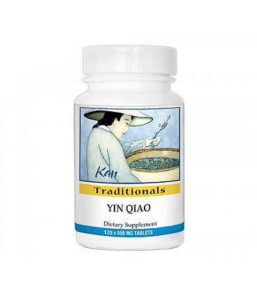yin qiao san להקלת כאבי גרון ומניעת התפתחות מחלת חורף