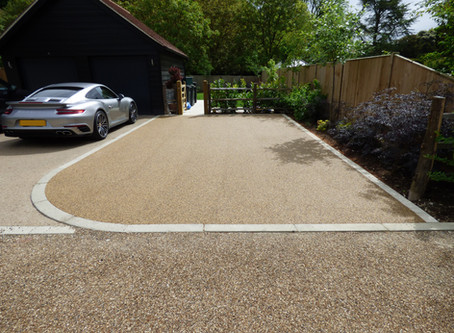 Resin Bound Drive