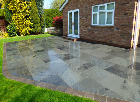 Stunning Slate Patio