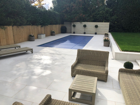 Stunning Porcelain Patio and Pool
