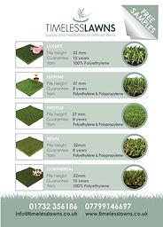 Timeless Lawn's Leaflet
