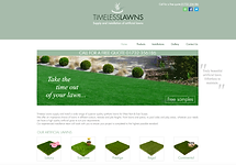 Preview of our Timeless Lawns website