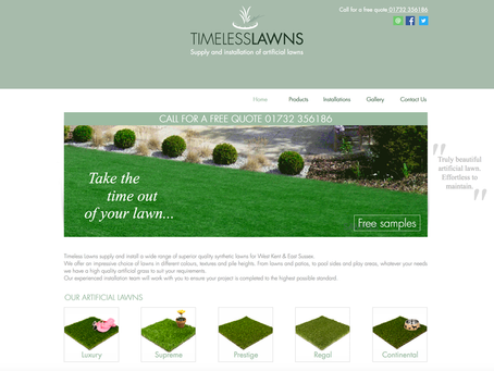 See our new Artificial Lawn Website!