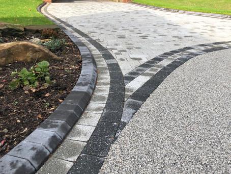 Stunning Sweeping Driveway