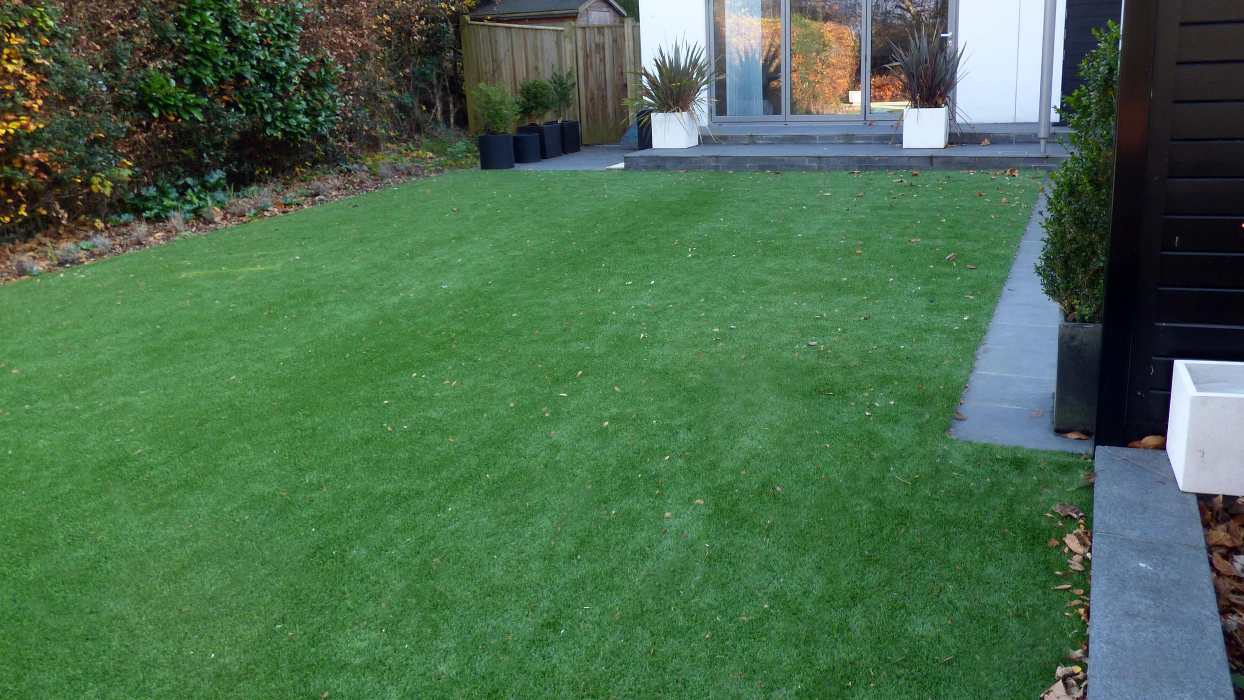 Luxury Artificial Lawn installation in Tunbridge Wells