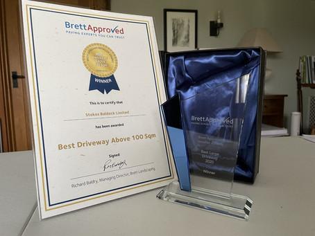 Brett Best Driveway Award