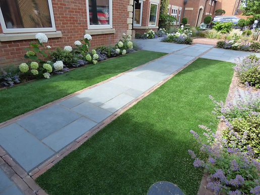 Artificial luxury lawn installion in Kent