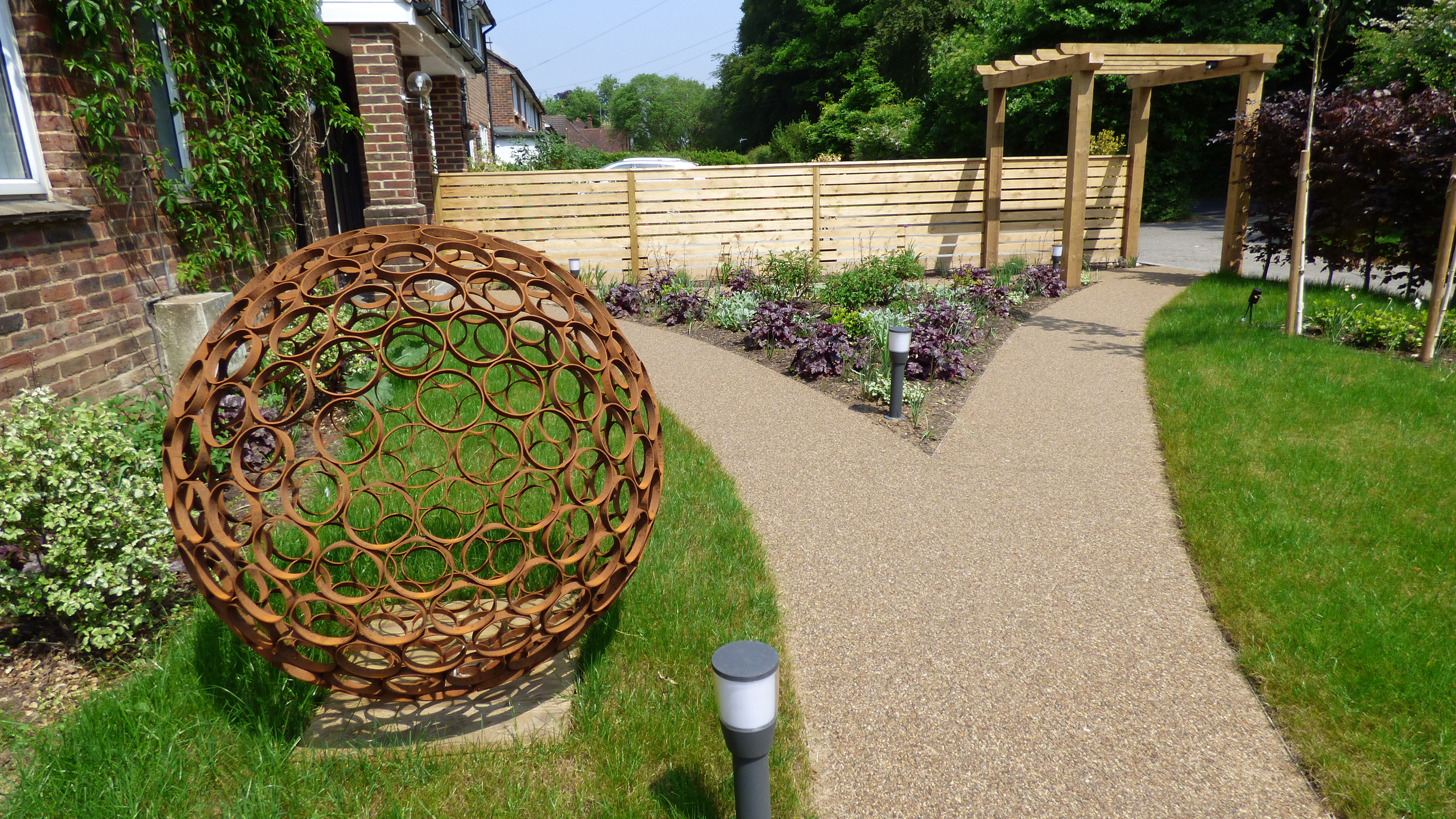 Relandscaped a front garden